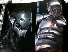 More AVENGERS: AGE OF ULTRON Concept Art Reveals Early 'Ultimate ULTRON'/ 'Prime' Designs