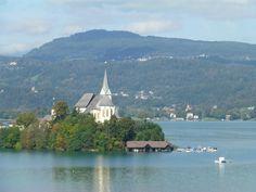 Wallfahrtskirche Maria Worth (church) - Maria Worth, Austria Carinthia, Alps, All Pictures, Us Travel, Austria, Places Ive Been, Trip Advisor, Attraction, Spaces