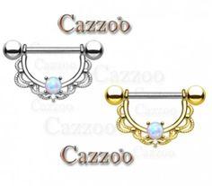 Nye brystpiercing nipple piercingsmykker