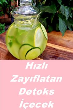 Detox Drinks, Healthy Drinks, Turkish Kitchen, Pilates Workout, Loose Weight, Natural Medicine, Milkshake, Diet Tips, Fat Burning