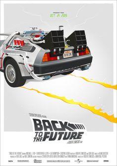 Back to the Future Science Fiction, Delorean Time Machine, Gotham, Bttf, Alternative Movie Posters, About Time Movie, Michael J, Back To The Future, Interstellar