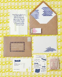 unique wedding invites.