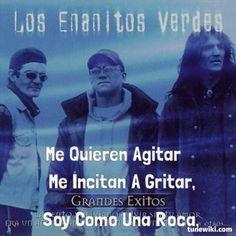 """-- #LyricArt for """"Lamento Boliviano"""" by Los Enanitos Verdes"""