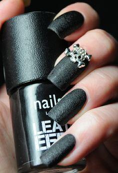 Nails Inc - Leather Effect Noho   Available at Sephora, Sephora.ca, Shoppers Drugmart & nailsinc.com