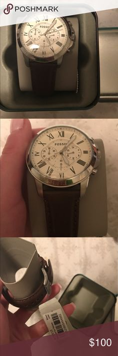 Selling this Authentic Men's Fossil Watch on Poshmark! My username is: tiffanylikewhoa. #shopmycloset #poshmark #fashion #shopping #style #forsale #Fossil #Other