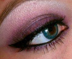 purple, smokey, pink, mauve, smoke, eyes, makeup, eye makeup, for green eyes, hazel, blue, brown
