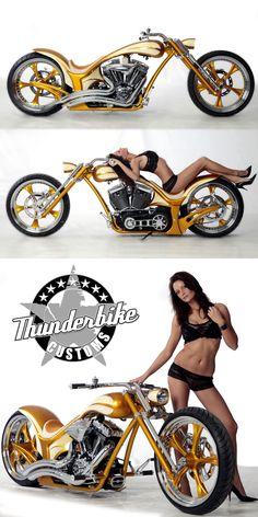 #Thunderbike Radical Lowrider #custombike with #Harleydavidson Screamin Eagle engine