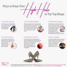Keep your high heels looking fabulous with these tips from Fleurt Boutique! #Heels #GoodToKnow #ShopFleurt