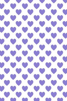 CocoPPa Purple Hearts (wallpaper)