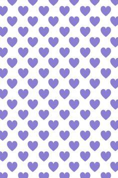 CocoPPa Purple Hearts (wallpaper)