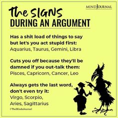 How do you handle ugly arguments? #argument #zodiacmemes