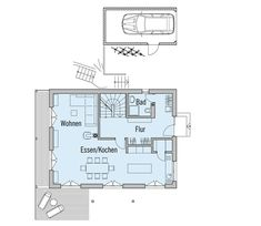 Baufritz Haus Motz-Russ - Grundriss Erdgeschoss