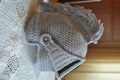 Crochet helmet for a knight pattern only by Julianna7622 on Etsy