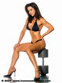 INSPIRATION! Rachel McLish was winner of the inaugural Ms. Olympia competition in 1980. This photo was taken 2006. She is now 56.