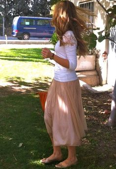 skirt tulle outfit - Buscar con Google