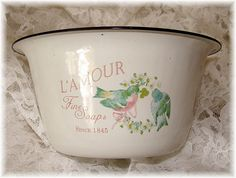 Little Enamelware Soap Bowl | Flickr - Photo Sharing!