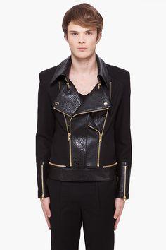JUUN.J Leather Jacket