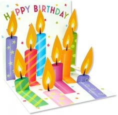 Up With Paper :: 1025 Birthday Candles