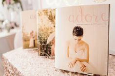Photo Credit: Reid Photography Event Produced by: Events Magazine: Adore Wedding Show, Love Is Sweet, Photo Credit, One Shoulder Wedding Dress, Events, Magazine, Wedding Dresses, Floral, Photography