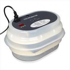 Incubadora modelo jn12.  Control de la temperatura digital. Volteo automatico. capacidad para 12 huevos de gallina, 7 huevos de pato, 20 de perdiz 25 de codorniz . FUNCION NACEDRA GRACIAS A SU BANDEJA DESMONTABLE. POTENCIA: 60W MEDIDAS: 35X25X17 CM.