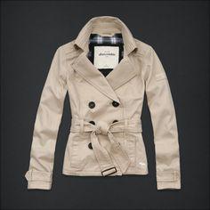 "New Abercrombie Kids Girls Trench Coat ""Britt"" Khaki Jacket Size Medium M   eBay"