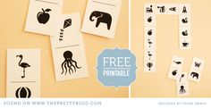 Dominoes for Kids {Free Printable} - The Pretty Blog