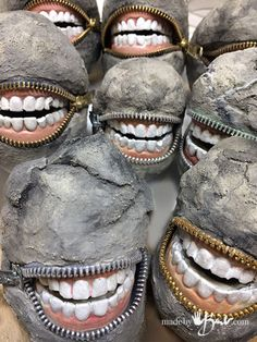 Cast some teeth and make some toothy stones that will make everyone laugh. Quick, easy and inexpensive project with detailed tutorial.