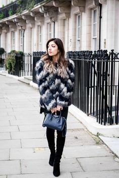 My Favourite Faux Fur | Amelia Liana