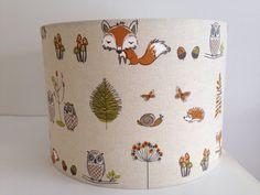 Fryetts Woodland Fox Fabric Handmade by jollyrobinsinteriors