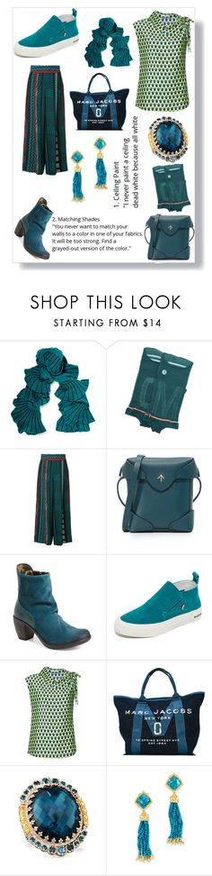 """""""A woman's outfit"""" by emmamegan-5678 ❤ liked on Polyvore featuring Magaschoni, Stance, Issey Miyake, MANU Atelier, Fly LONDON, SeaVees, Tome, Marc Jacobs, Konstantino and Kendra Scott"""