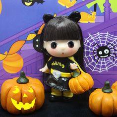"[Toypark]Korean fancy doll, ""BAT GIRL"" Mini Ddung Bonggu, collector's item."