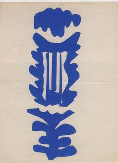 Henri Matisse, The Lyre, 1946. Gouache on paper, cut and pasted