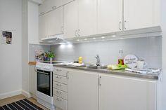 Mini piso de 40 m² de estilo escandinavo - Estilo nórdico | Blog de decoración | Muebles diseño | Decoración de interiores - Delikatissen