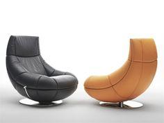 Swivel armchair DS-166 Collection by de Sede | design Hugo de Ruiter