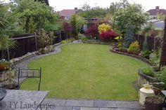 beautiful small back yard