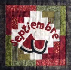 ¿Qué proyecto realizarás durante Septiembre?  #HappyQuilting!