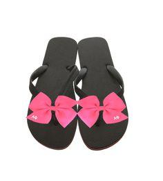 2546d295892c2 Alpha Phi Flip-Flops . Pink Bows