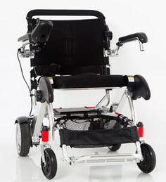 The Standard model of KD Smart Chair is an FDA cleared mobility device and was designed to be the most convenient electric wheelchair on the market today. It is made of strong aluminum alloy, which gi