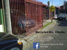 ¿La acera sirve cochera? Mercedes Nte Heredia CR