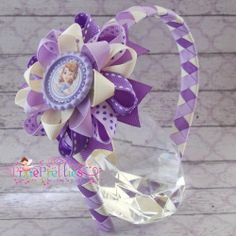 Sofia The First Loopy Flower Headband by PixiePretties on Etsy, $13.49