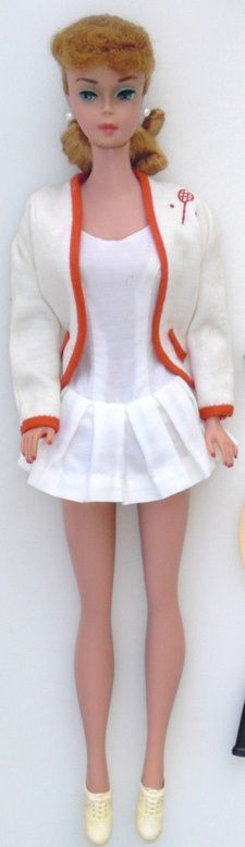 My Barbie played tennis in this - it came with tiny balls and a racquet.