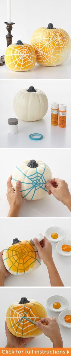 27 Creative No Carving Pumpkin Decorating Ideas and Tutorials