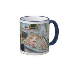Seafood Sale Mug (Pike Place Seattle) mug