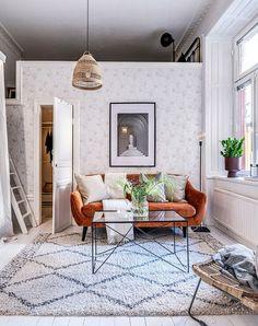 Două dormitoare la mezanin într-un apartament de 55 m² | Jurnal de Design Interior