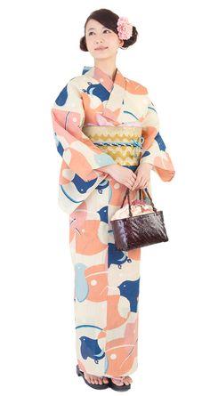 Yukata. Yukata is summer Kimono. #Japan #kimono