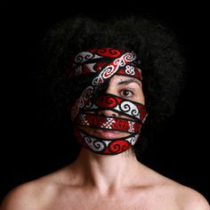 vicky thomas self portrait Art Photography Portrait, Artistic Photography, Digital Photography, Portraits, Art Maori, Photography Cheat Sheets, Contemporary Art, Halloween Face Makeup, Illustration Art