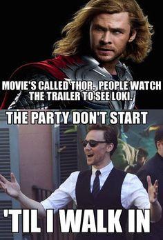 I love Thor, but I'm still guilty! Frigga. Frigga too. She's pretty awesome.