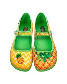 75560a6c7b42 Pineapple Flats Chocolaticas from Hot Chocolate Designs  85.00 Kawaii Shoes