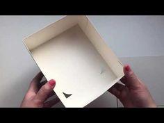 DIY Beautiful box idea | Idéia de papelão | Artesanato de papel - YouTube Diy Paper, Paper Crafts, Tea Box, Diy Gifts, Decoupage, Stencils, Arts And Crafts, Beautiful, Handmade