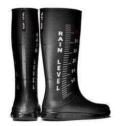 Cool rubber boots
